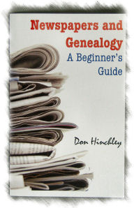 Newspapers and Genealogy Book Cover