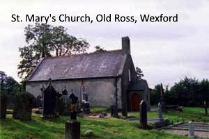 Saint Marys Church in Wexford