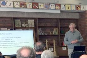Dave Clements at the Clarington Museum